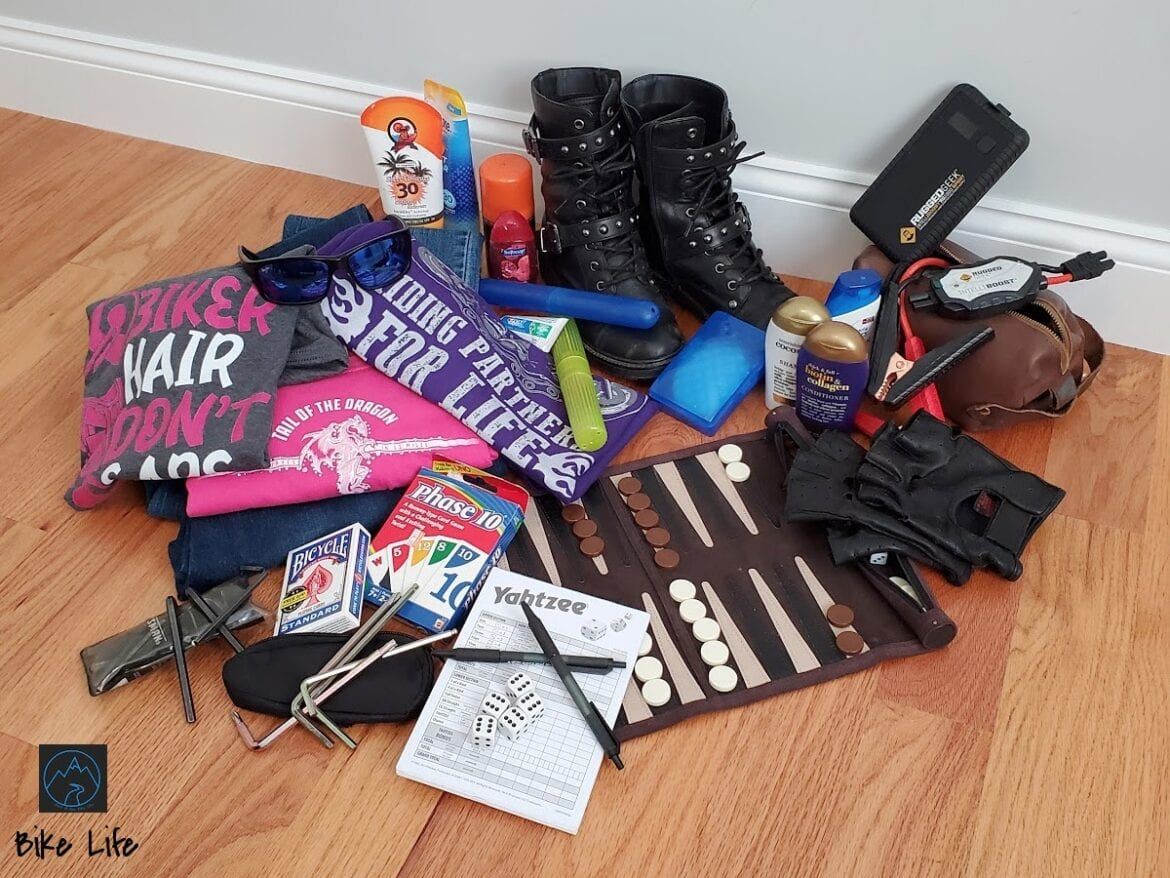 Smart Packing for a successful Motorcycle Road Trip