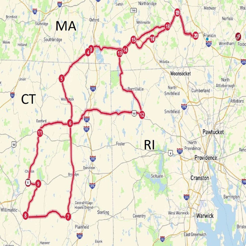 CT Rt 169 Ride