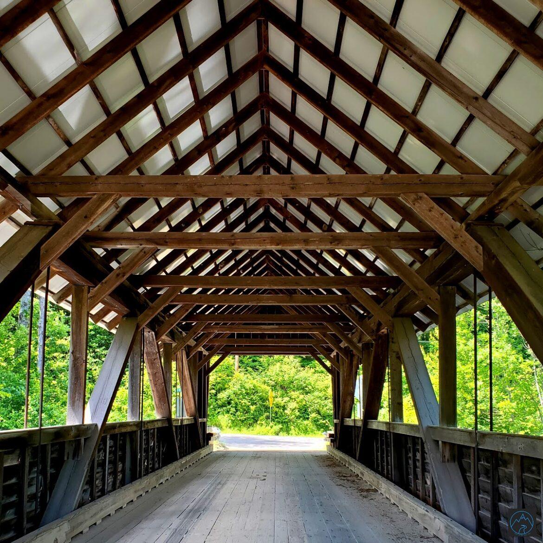 Bump Covered Bridge, Campton NH