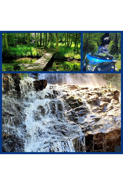 Beaver Brook Falls-Amazing Waterfall in New Hampshire!