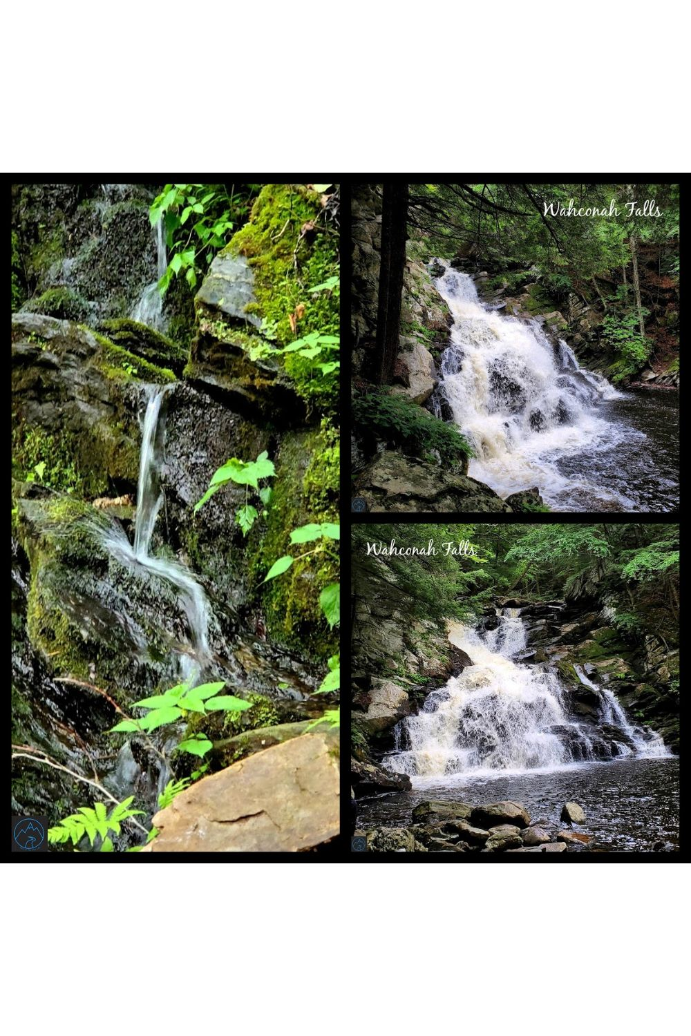Wahconah Falls State Park-Beautiful Waterfall in MA-Photo Gallery