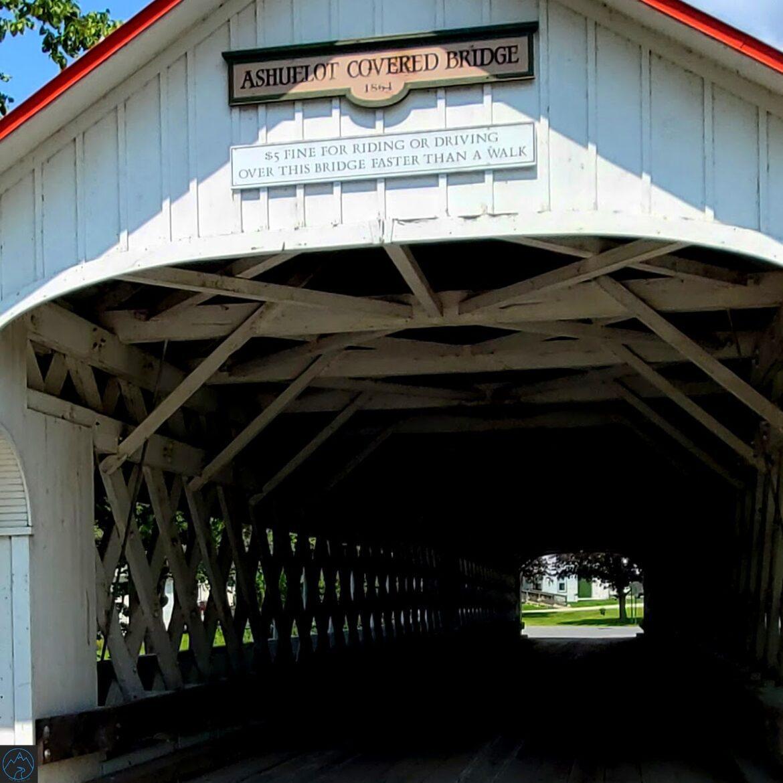 Ashuelot Covered Bridge-A Beautiful Covered Bridge in NH