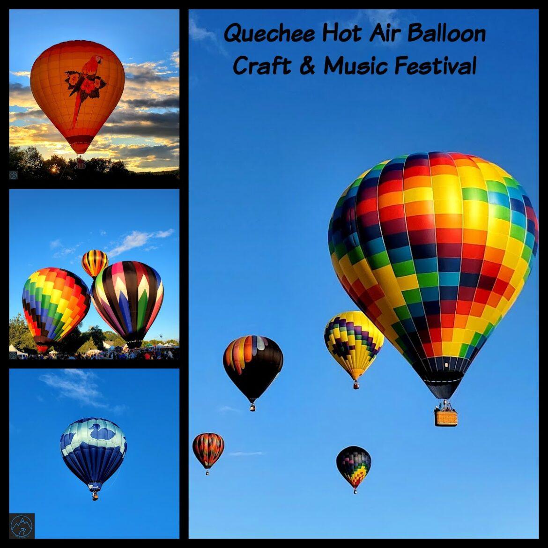 Amazing Hot Air Balloon Festival in Quechee, Vermont