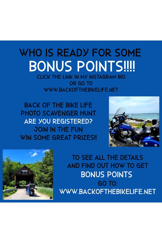 BONUS POINTS!! Photo Scavenger Hunt Fun!